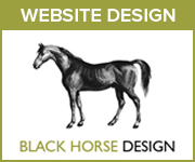Black Horse Design Website Design (Powys Horse)